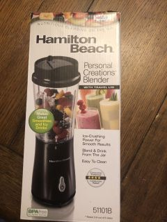 Hamilton beach blender (used once on vacation)