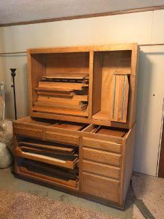 Used oak cabinets