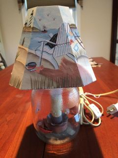 LIGHTED JAR LAMPS (2)