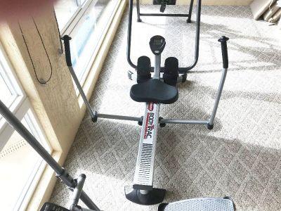 BodyTrac Glider Rowing Machine