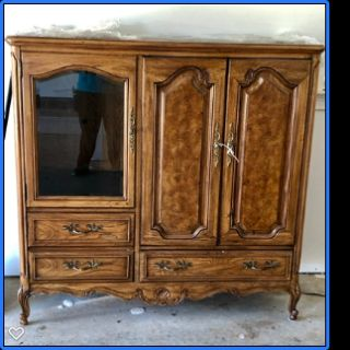 Thomasville French Court Collection Entertainment Center