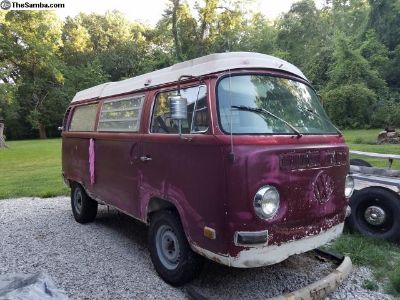 1971 Westfalia Camper Kansas City Destination Bus