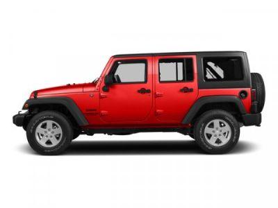 2015 Jeep Wrangler Unlimited Sahara (Firecracker Red Clear Coat)