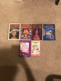 6 paperback books