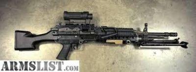 For Sale: MK48 SAW M249 MK46 5.56 to 7.62 LMG Conversion kit