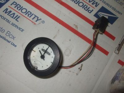 Buy 862 Freightliner clock gauge motorcycle in Batesville, Arkansas, US, for US $15.00