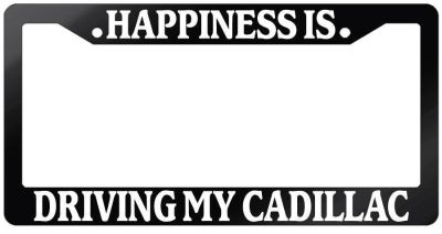 License Plate Frame - Cadillac