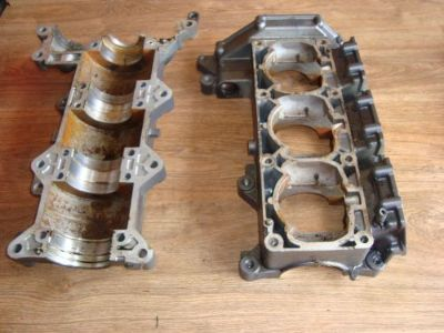 Sell Yamaha Waverunner Crankcase Crank Case Wave Raider JB motorcycle in Green Bay, Wisconsin, United States, for US $150.00