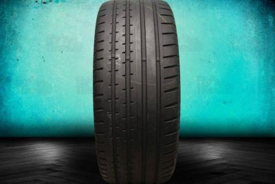 Buy Used 245/45ZR18 Continental SportContact 2 BMW Mercedes 245/45/18 Tire motorcycle in Hollywood, Florida, US, for US $159.99