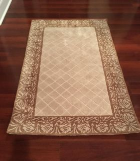 New Safavieh Total Performance Collection Ivory/Creme Area Rug 3' x 5'