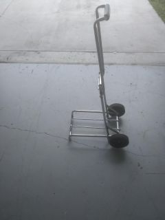 Durable foldable steel hand truck