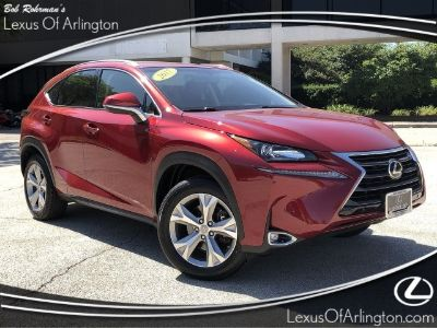 2017 Lexus NX NX Turbo (Matador Red Mica)