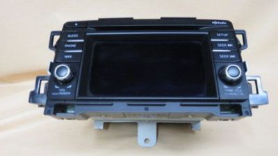 Sell 2014 MAZDA CX-5 RADIO CD PLAYER GPS OEM RADIO FREE SHIP motorcycle in Canoga Park, California, United States, for US $77.77