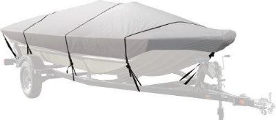 Purchase 15'-17' WATERPROOF MODIFIED V HULL BOAT COVER-FISHING-DUCK-JON BOAT-CL-CVRDLX-L motorcycle in West Bend, Wisconsin, US, for US $75.99