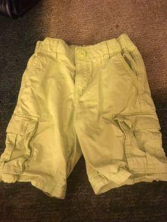 Size 6 Yellow Shorts