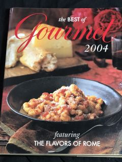 The Best Of Gourmet Featuring the Flavors Of Rome Cookbook