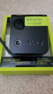 Travel Charger w/ built-in battery