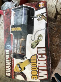 Brand new! Never Used! Winch!