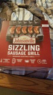 NEW Johnsonville sizzling sausage grill