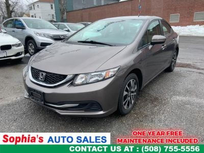 2014 Honda Civic EX (Kona Coffee Metallic)