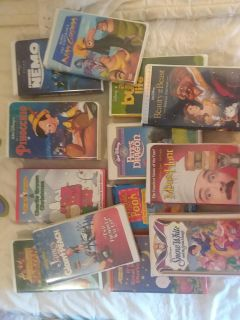 VHS collection, $45