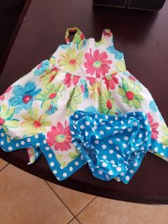 Various baby girl items