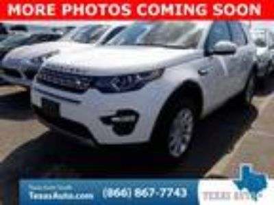 used 2017 Land Rover Discovery Sport for sale.