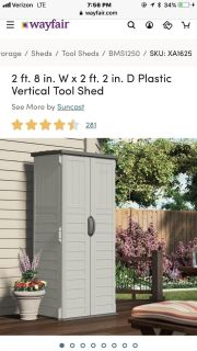 ISO Outdoor storage cabinet