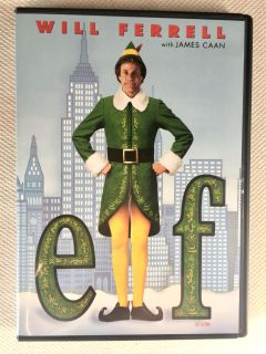 Will Ferrell in Elf! Great Christmas Movie! Light scratches but tested & works.