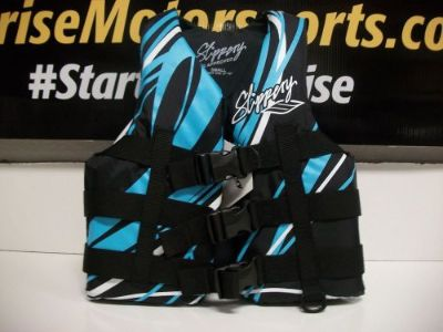 Find SLIPPERY LIFE VEST S13 RAY LT BLUE LARGE 32410094 motorcycle in Searcy, Arkansas, United States, for US $34.95