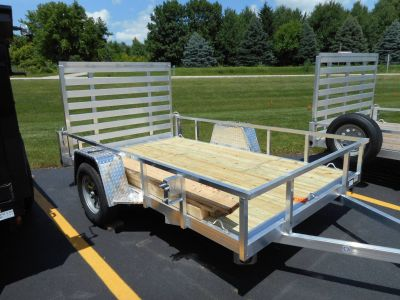 2019 Quality Trailers 74X10 DROP AXLE Equipment Trailer Trailers Belvidere, IL