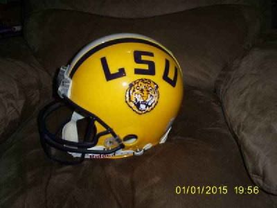 Authentic L.S.U. Helmet(Not a Replica) 287 Zimmerman Ave. Bastrop,Tx