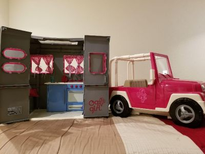 American Girl Jeep and Camper Our Generation