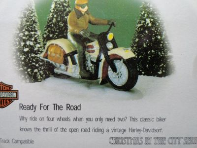 HARLEY DAVIDSON (READY FOR THE ROAD) (CHRISTMAS IN THE CITY SERIES)