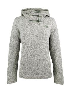 New Women's NORTH FACE Cresc8ent Pullover Hoodie Vintage White Heather 2XL