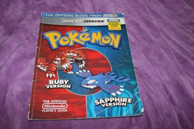 Pokemon Ruby Version, Sapphire Version: The Official Nintendo Player's Guide (Game Boy Advance)