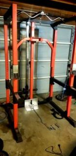 Power Rack with Cable Pulley