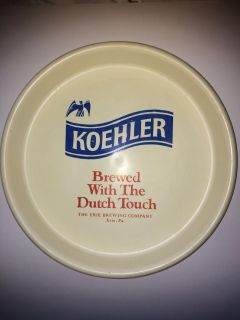 Koehler Erie Brewing Company Tray