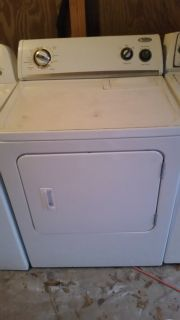 Whirlpool super capacity plus dryer