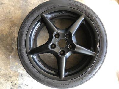 OE Porsche 911 Wheels and Nitto Tires