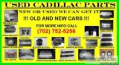 USED AND NEW CADILLAC PARTS