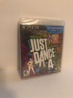 Just dance 4 ps3 game (new)