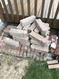 Taking offers for these misc bricks and edging.
