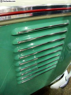 Split Bus Deluxe Vent Trims