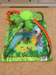 Fisher Price Rain Forest Gym Play Mat