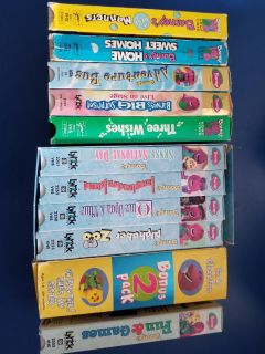 Barney VHS Tapes