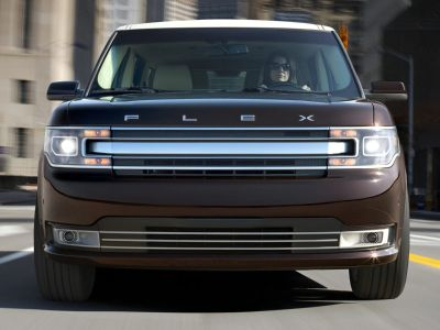 2015 Ford Flex SEL (White)
