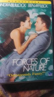NEW DVD - FORCES OF NATURE (NEW SEALED)