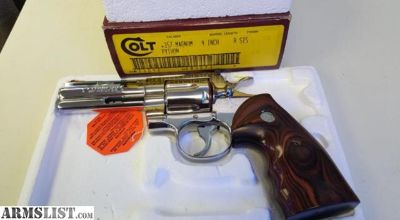 For Sale: Colt Python .357mag BSS