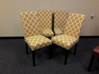 Dining Chairs $160 for 4.